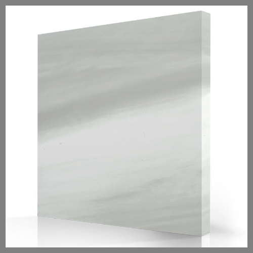 Silver White Marble Acrylic Colour