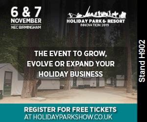Meet us at the Holiday Park Innovation Show - Stand H902