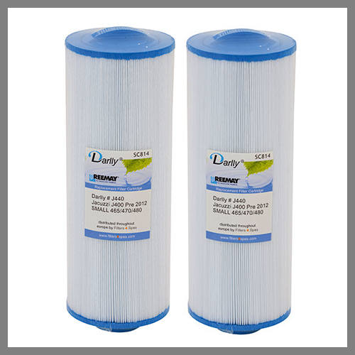 2  Hot Tub Filters