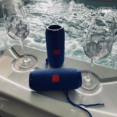 Sunbeach Spas Splash Proof Portable Speaker